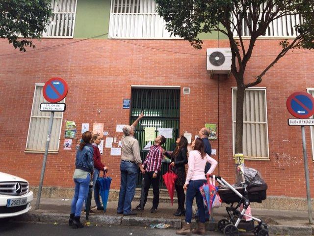 Visita al colegio María Zambrano.