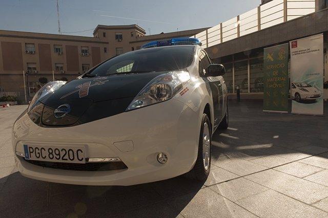 La Guardia Civil Adquiere El Primer Vehículo Eléctrico
