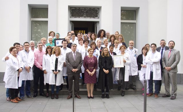 El Hospital Santa Clotilde celebra la consecución de sello de excelencia europeo