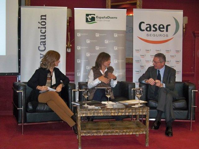 Garmendia y Gallardón, en los Diálogos para el Desarrollo.,