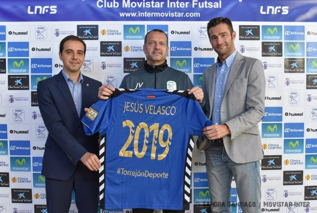 Jesús Velasco renueva con Movistar Inter