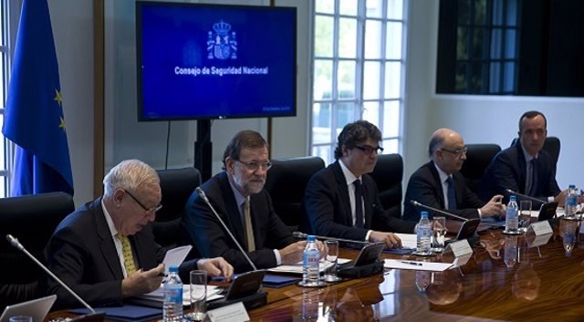 Reunión del Consejo de Seguridad Nacional presidida por Mariano Rajoy