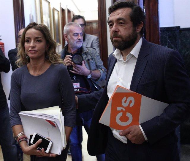 Patricia Reyes y Miguel Gutiérrez