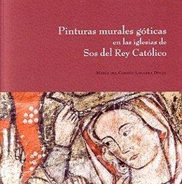 Portada del libro dedicado a las pinturas góticas de las iglesias de Sos