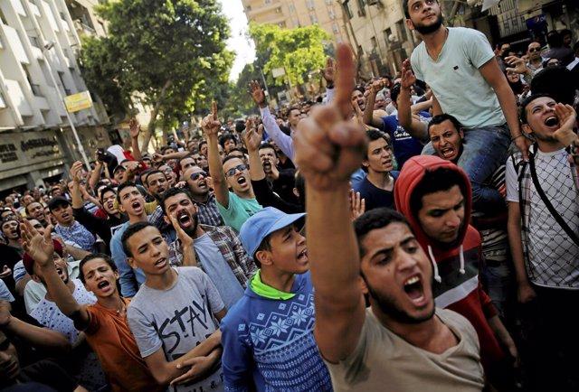 Protesta de Hermanos Musulmanes