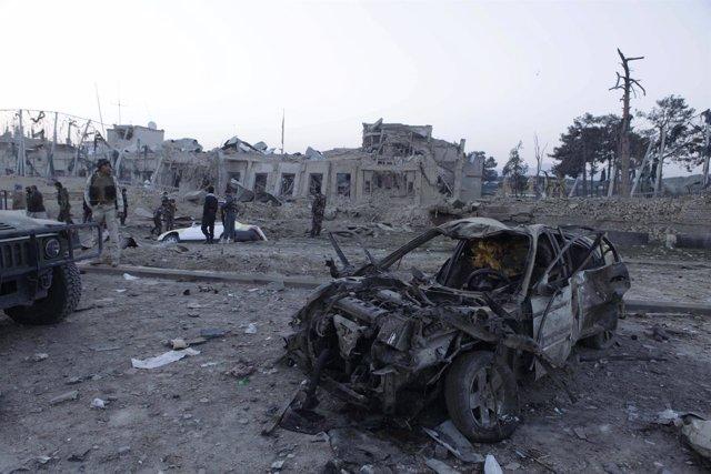 Ataque contra el consulado de Alemania en la ciudad afgana de Mazar-i-Sharif