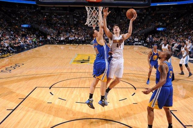 Juancho Hernangómez en el Denver Nuggets - Golden State Warriors