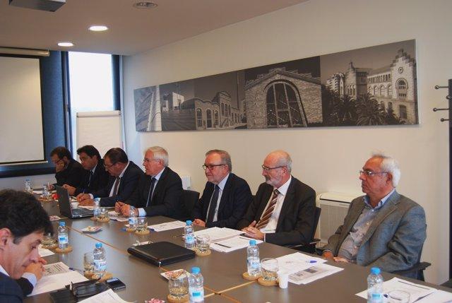 La reunión de la Cámaras de Comercio de Catalunya en Terrassa