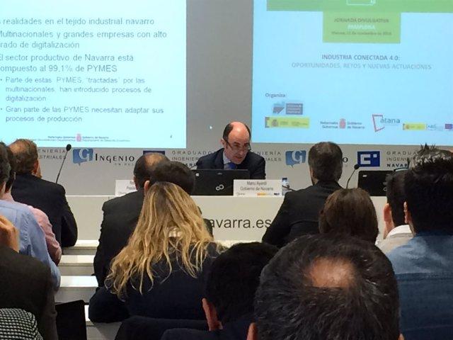 Manu Ayerdi, vicepresidente del Gobierno de Navarra.