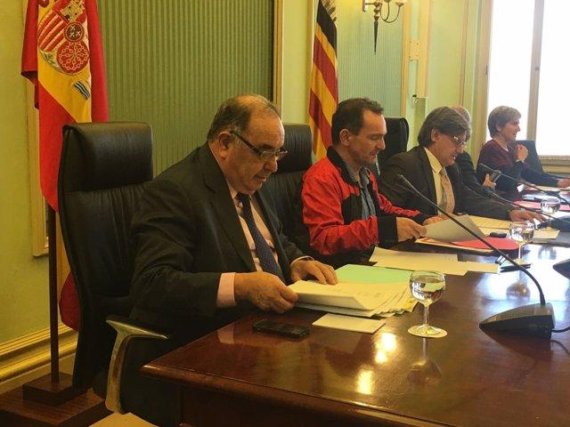 Comparecencia de Pere Palau en el Parlament.