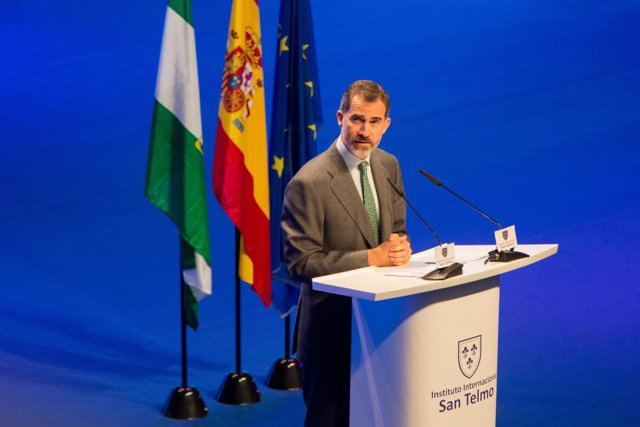 El Rey Felipe VI en la inauguración de la asamblea del Instituto San Telmo