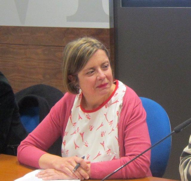La Primera Teniente De Alcalde De Oviedo, Ana Taboada (Somos).