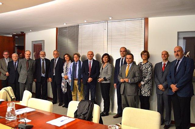 Miembros del Consejo de Transparencia y los organismos de las CCAA