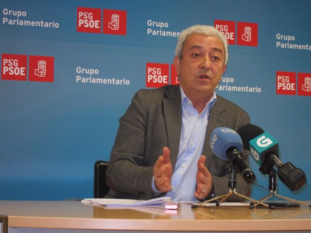 El diputado del PSdeG Luis Álvarez, de Lugo