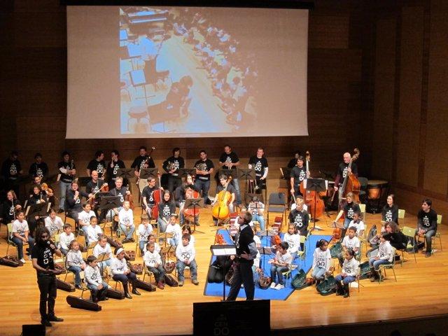 Concierto De In Crescendo Celebrado En Diciembre En Valladolid