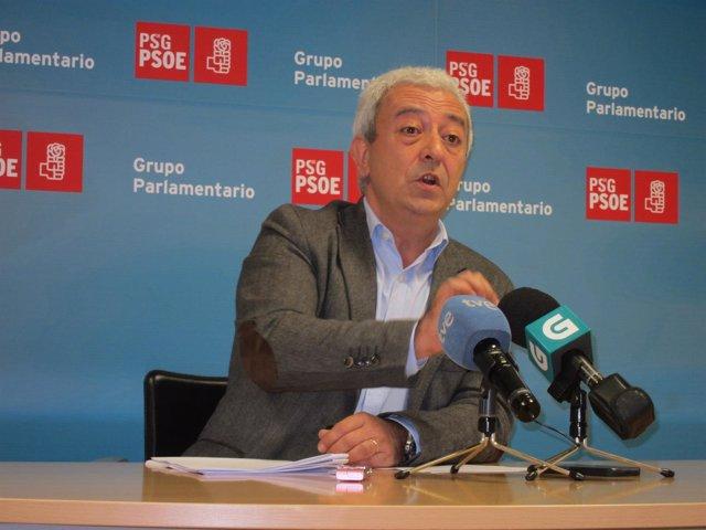 El diputado del PSdeG Luis Álvarez