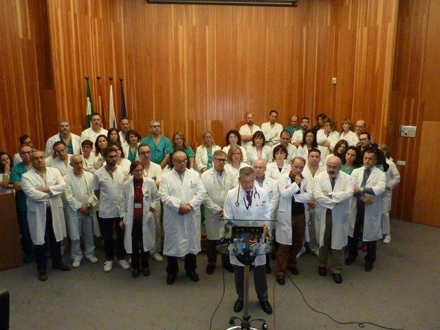 Jefes de servicios del Hospital de Huelva