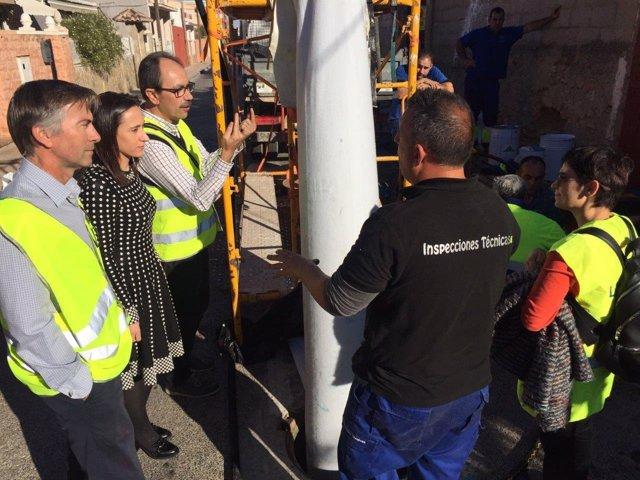Obras en calle Santa Teresita de Torrent