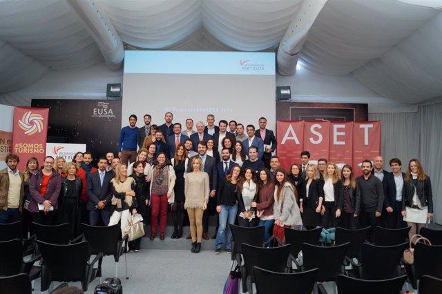 Presentación de nuevos productos turísticos en el IV Workshop ASET EUSA