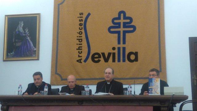 Rueda de prensa de la Archidiócesis de Sevilla