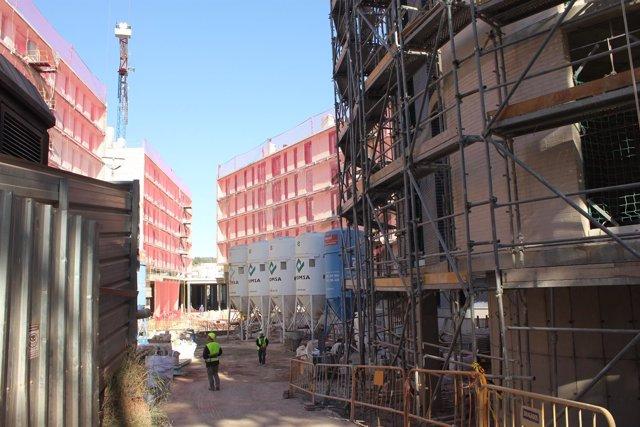La promoción de 143 pisos protegidos está en el nuevo barrio de Can Ribes