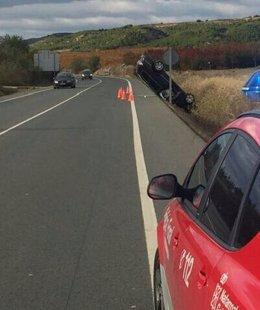 Accidente de tráfico en Funes