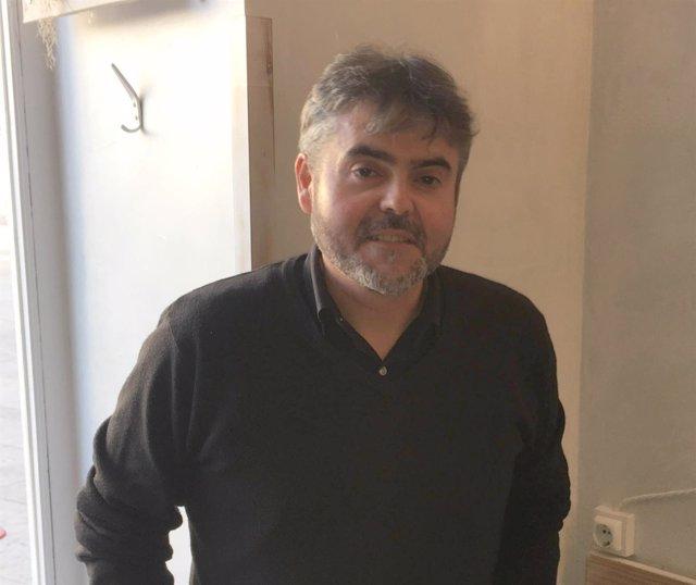 El secretario general de Podemos Burgos, Ignacio Lacámara