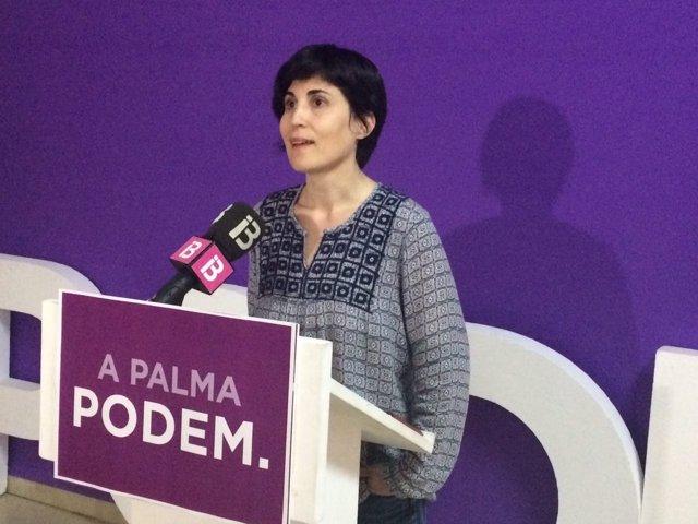 Antonia Martín, nueva secretaria general de podemos palma