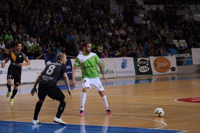 Palma Futsal continúa como líder de la LNFS