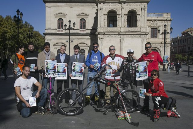 Presentación de 'Sevilla sobre ruedas'