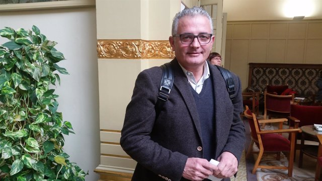 El portavoz de El PI, Jaume Font