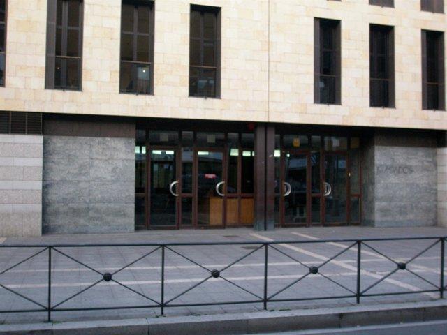 Edificio de los Juzgados de Valladolid, escenario del presente juicio.