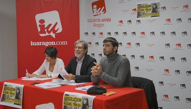 Reunión del Consejo Político de IU Aragón.