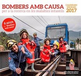 Sexta edición del calendario solidario 'Bombers amb Causa'