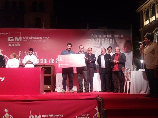 Entrega de premios de Sevilla Tapas Week