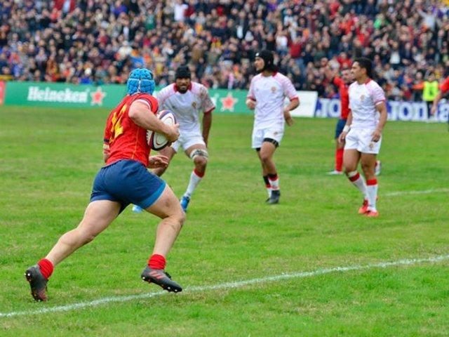 La selección española de rugby