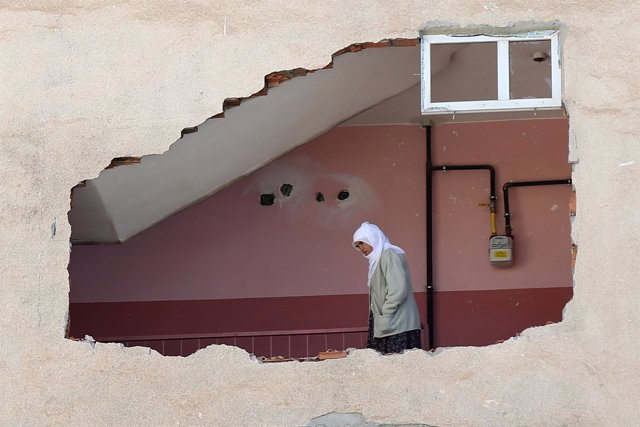 Destrucción de hogares en Irak