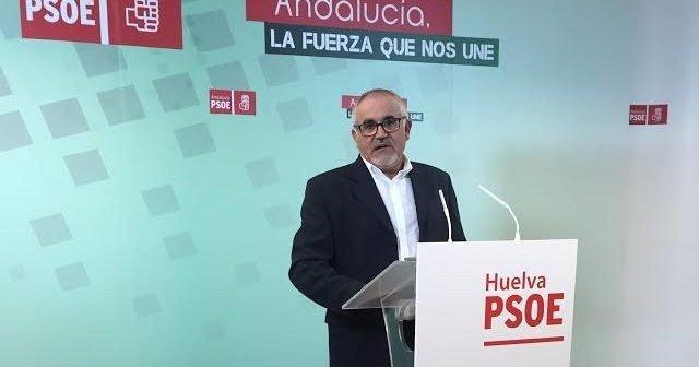 El parlamentario andaluz del PSOE-A Diego Ferrera