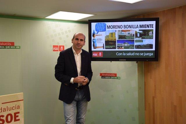 """(Con AUDIO, FOTOS Y VIDEO DE CAMPAÑA) PSOE: """"Moreno Bonilla Miente, En Los Últim"""