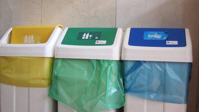Recogida selectiva de residuos en el Ayuntamiento de Barcelona