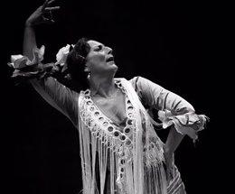 La bailaora Susana Lupiáñez, 'La Lupi'.