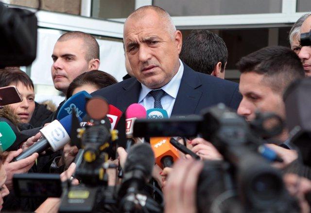 El primer ministro búlgaro, Boiko Borisov