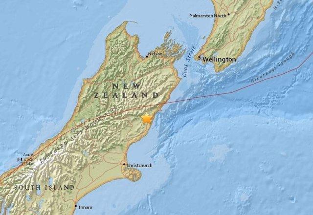 Terremoto de magnitud 6,2 en Nueva Zelanda