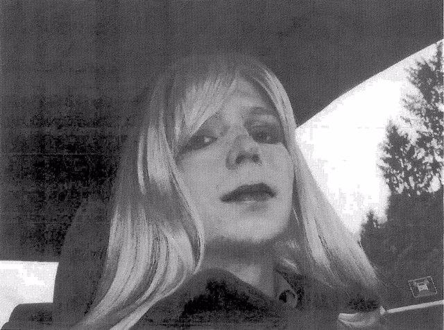 La soldado estadounidense Chelsea Manning