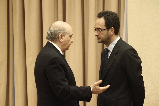Jorge Fernández Díaz y Antonio Hernando
