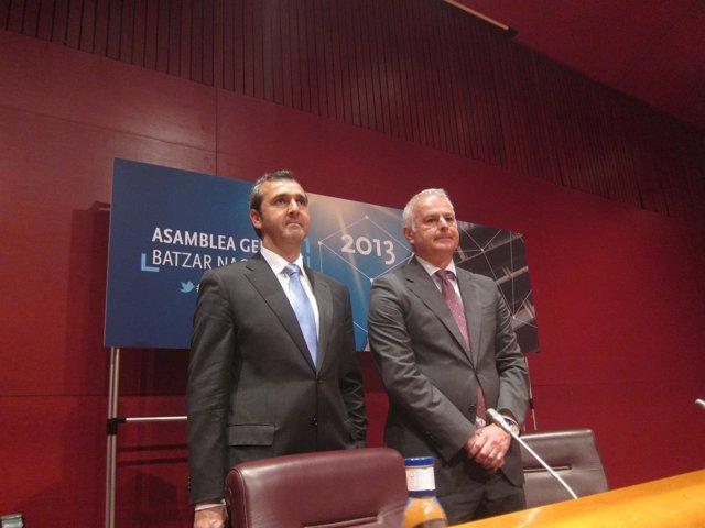 Iñaki Garcinuño y Francisco Javier Azpiazu