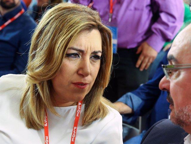 Susana Díaz en el Comité Federal del PSOE