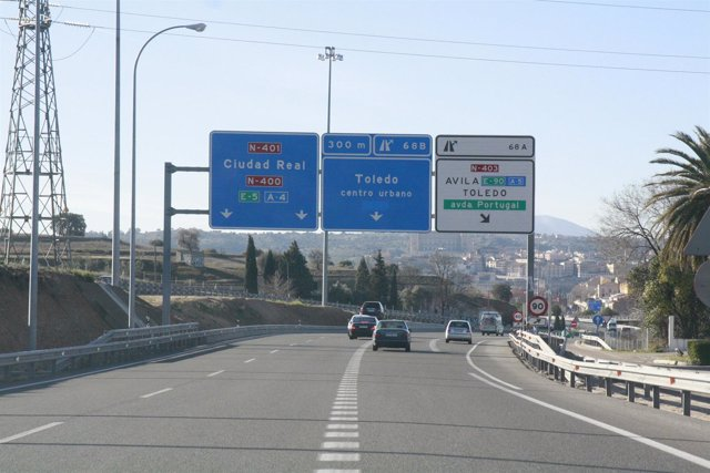 Carretera, Tráfico, Coches, Autovía, DGT, Circulación,Desvío