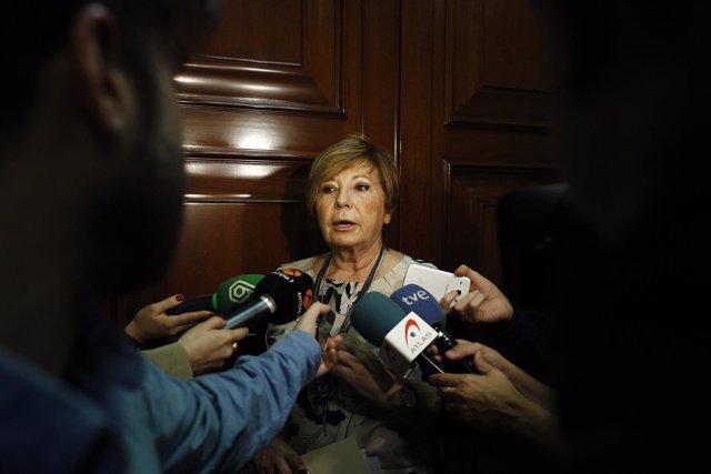 Celia Villalobos en el Congreso