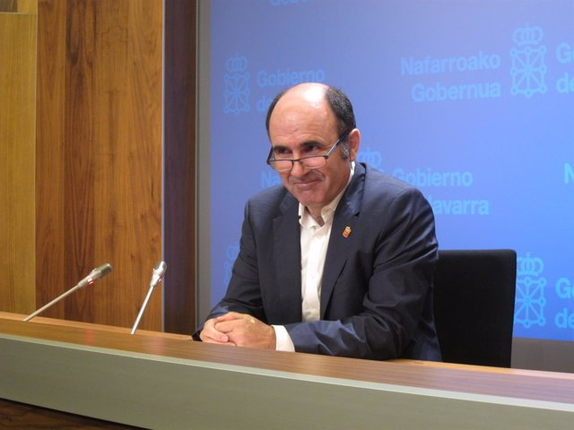 El vicepresidente de Desarrollo Económico del Gobierno de Navarra, Manu Ayerdi.